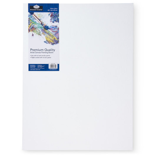 Royal Brush® Essentials Canvas Board - 18 in. x 24 in.
