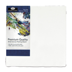 Royal Brush® Essentials Canvas Board - 6 in. x 6 in.