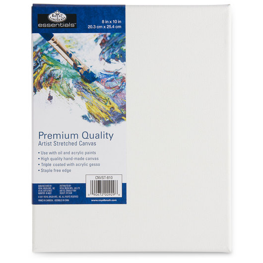 Royal Brush® Essentials Canvas Board - 8 in. x 10 in.