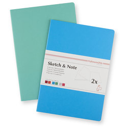 Sketch and Note Bundle - 8-1/2 in. x 11-1/2 in. Blue