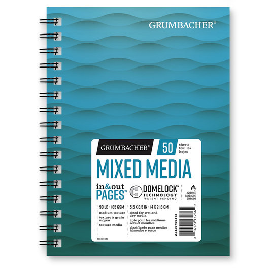 Grumbacher® Mixed Media Paper - 5-1/2 in. x 8-1/2 in.