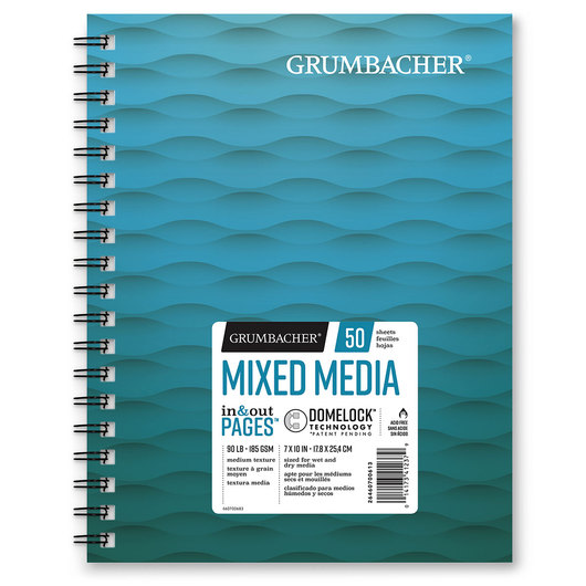 Grumbacher® Mixed Media Paper - 7 in. x 10 in.