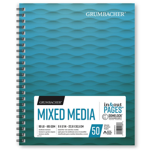 Grumbacher® Mixed Media Paper - 9 in. x 12 in.