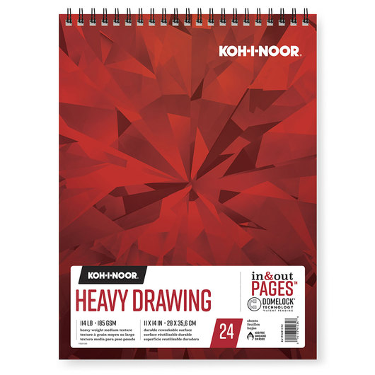 Koh-I-Noor® Heavy Drawing Pad - 11 in. x 14 in.