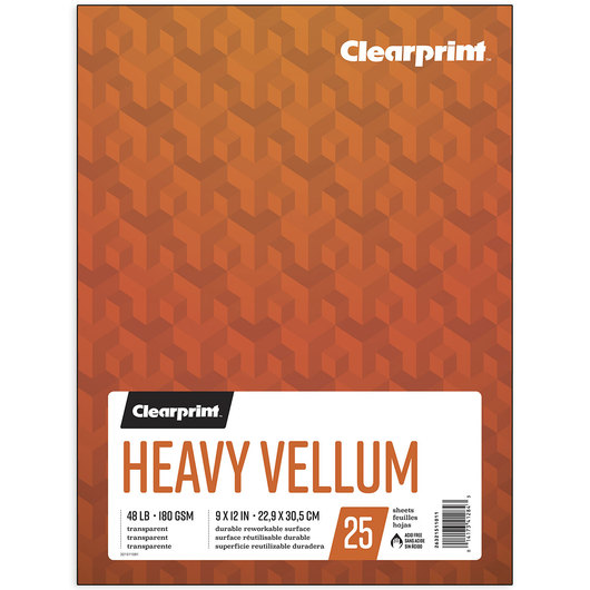 Clearprint™ Heavy Vellum Paper - 9 in. x 12 in.
