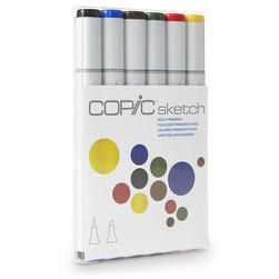Copic Sketch Markers - 6-Color Set