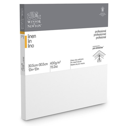 Winsor & Newton™ Classic Linen Canvas - 12 in. x 12 in.