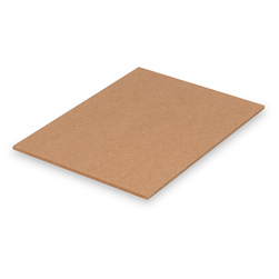 Nasco Untempered Hardboard 1/4 in. Panel - 8 in. x 11 in.