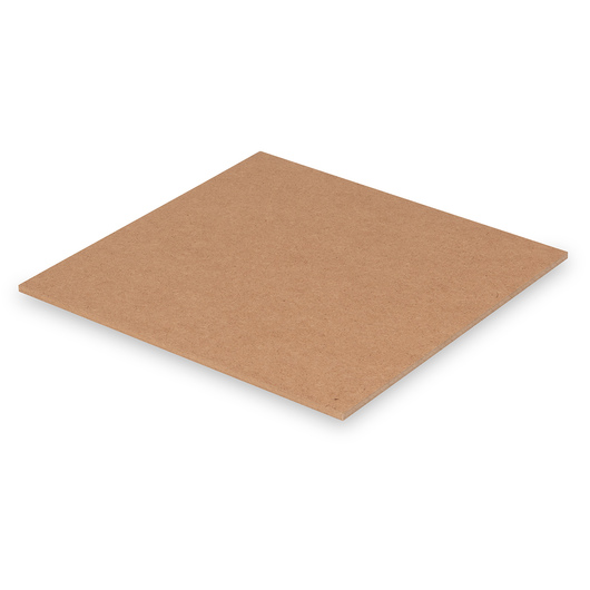 Nasco Untempered Hardboard 1/4 in. Panel - 10-1/2 in. x 10-1/2 in.