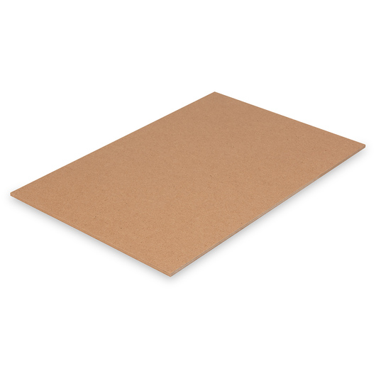Nasco Untempered Hardboard 1/4 in. Panel - 12 in. x 18 in.