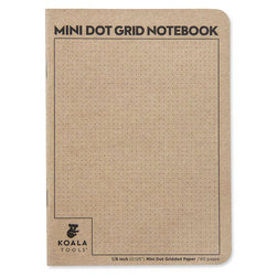 Koala Tools® Mini Dot Grid Notebook - 5 in. x 7 in. x 1/8 in.