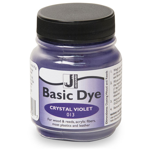 Jacquard® Basic Dye Powder - 1/2-lb. Jar - Crystal Violet
