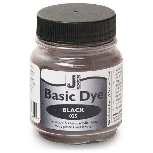 Jacquard® Basic Dye Powder - 1/2-lb. Jar - Black