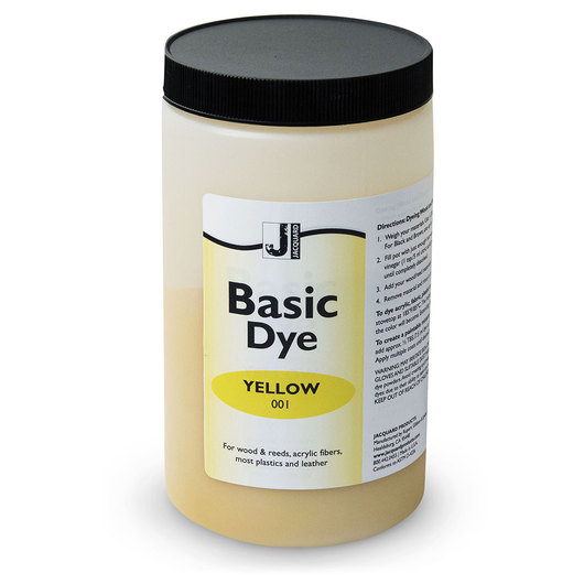 Jacquard® Basic Dye Powder - 1-lb. Jar - Yellow