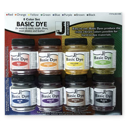 Jacquard® Basic Dye Powder - Set of 8 - 1/2-lb. Jars
