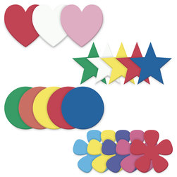 Pacon WonderFoam 6 in. Assorted Shapes - Set of 42
