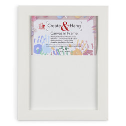Create & Hang - 9 in. x 12 in. - White