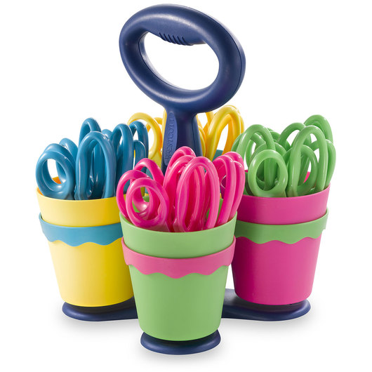 Westcott® School Scissor Caddy with 5 in. Blunt Scissors