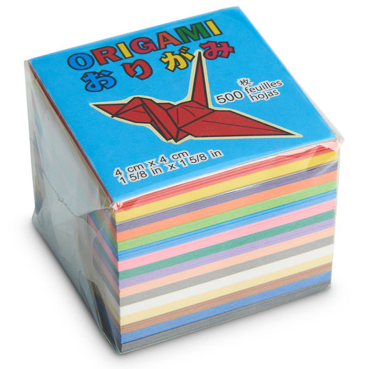 Mini-Size Origami Paper - 500 sheets - 1-5/8 in. x 1-5/8 in.