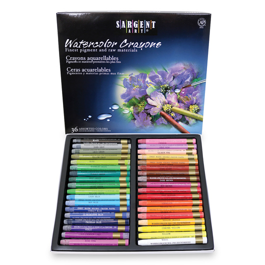 Sargent Art® Watercolor Crayons - Set of 36