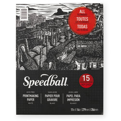 Speedball® Printmaking Pad - 11 in. x 14 in.