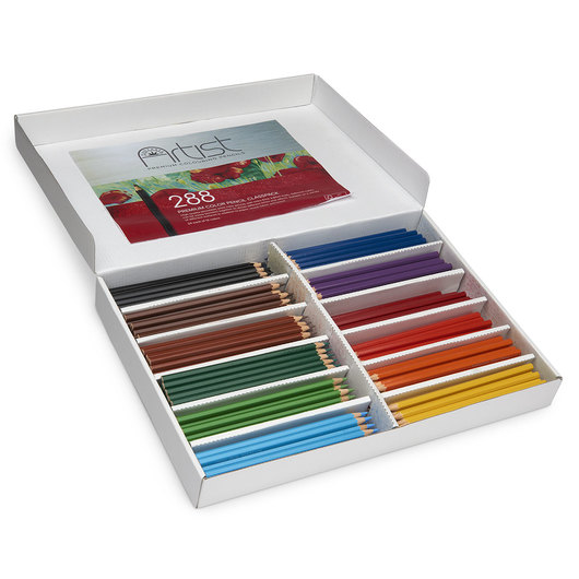 Fantasia Premium Artist Color Pencils - Set of 288