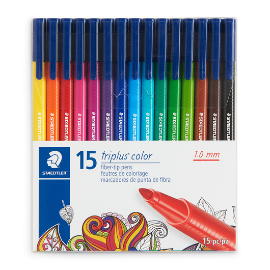 STAEDTLER® triplus® Color Pens - Set of 15