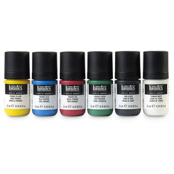 Liquitex® Acrylic Gouache - Set of 6 Primary Colors - 0.74 oz. (22 ml)