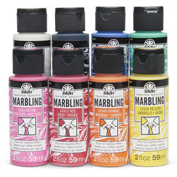 FolkArt Marbling - 2 oz. - Set of 8