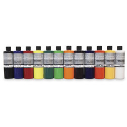 Chroma® 2 Heavy-Bodied Washable Tempera Paint - Set of 12 Pints