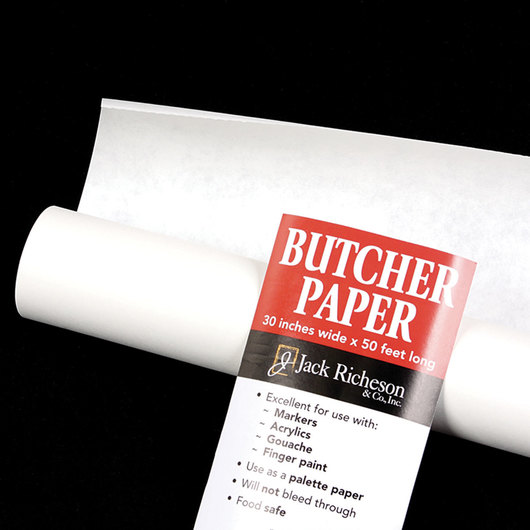Jack Richeson® White Butcher Paper - 30 in. x 50-ft. Roll