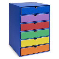 Classroom Keepers® 6-Shelf Organizer and Drawers