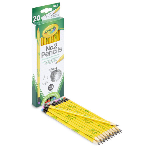 Crayola® No. 2 Pencils - Box of 20