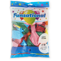 Balloons - Round - 12 in. - Pack of 50