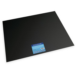 Pacon Ghostline Foam Board - Pkg. of 10 Black on Black