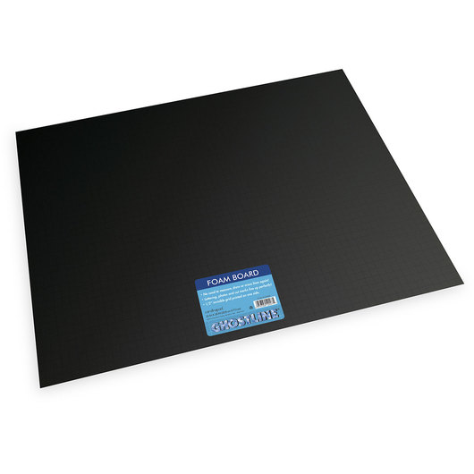 Pacon® Ghostline® Foam Board - Pkg. of 10 Black on Black