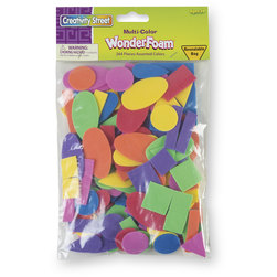 Creativity Street WonderFoam Assorted Shapes and Colors