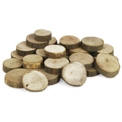Wood Branch Cut-offs - Circles