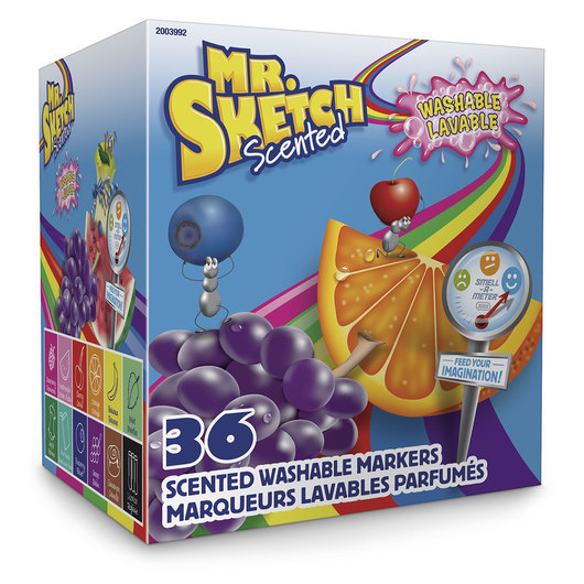 Mr. Sketch® Scented Washable Markers - Set of 36