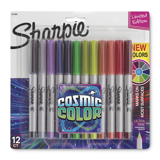 Sharpie® Cosmic Color Markers - Set of 12 Ultra Fine Tip