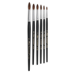 Nasco <q>Pro-formance™</q> Camel Hair Watercolor Brushes