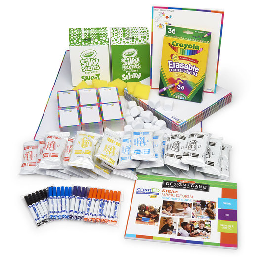 creatED® Design-a-Game™: A Create-to-Learn™ STEAM Program from Crayola® - Grade K-1