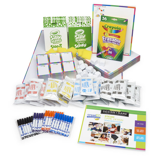 creatED® Design-a-Game™: A Create-to-Learn™ STEAM Program from Crayola® - Grade 2-3