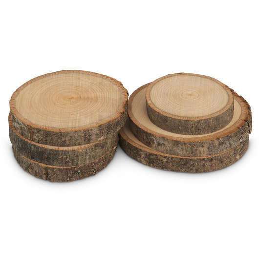 Basswood Country Rounds® Pack of 6