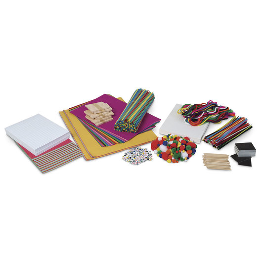 Learn It by Art™ Makerspace STEAM Builder Kit I