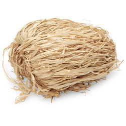 Colored Raffia - 325 cu. in. - Natural