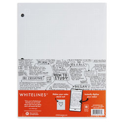 Whitelines Interactive Notebook - Engineering Computation Pad