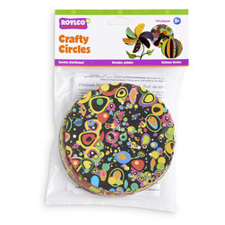 Roylco® Crafty Circles - 144 Paper Circles - 5 in. Dia.