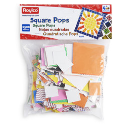Roylco® Square Pops - 1,500 Pieces
