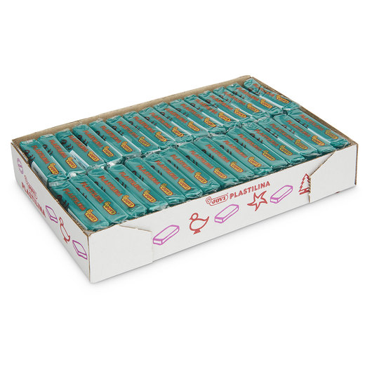 Jovi® Plastilina Box of 30 Bars - Dark Green